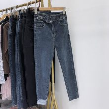 广州便宜库存牛仔裤低价处理韩版时尚杂款女装牛仔裤清货5元-10元牛仔裤批发