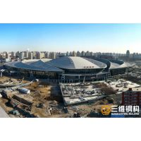 北京高铁站钢结构定制加工厂家-三维钢构
