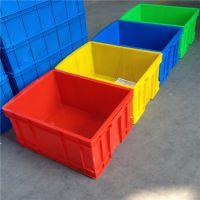 厂家供应上海闵行塑料箱加厚零件盒周转箱物料盒螺丝盒塑料配件箱塑料收纳箱子