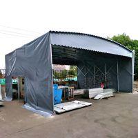 普陀区大型侧开门活动推拉伸缩雨棚厂家_布 室外移动折叠帐篷供应