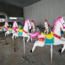 豪华转马儿童游乐场设备旋转木马生产厂家三星游乐