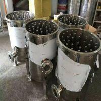 滤尔水供应白酒厂专用卫生级不锈钢精密过滤器立式304保安过滤器精密过滤颗粒状物提纯效果超好