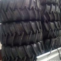 厂家直销20.8-42 R-1人字花纹联合收割机轮胎 农用旱田胎 全新