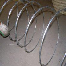 刀片刺绳围网 刀片刺绳支架 刺丝多少钱一米