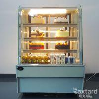 蛋糕柜冷藏柜圆弧形展示柜 东莞蛋糕柜公司 后开门保鲜水果冷藏柜冰柜