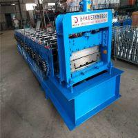 地鑫现货销售430铝镁锰压瓦机 高立边矮立边成型机