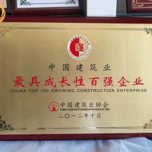 上海木质奖牌批发, 定制不锈钢奖牌,先进工程优秀门店纪念牌