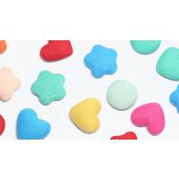 爱心形圆形五角星形钕铁硼强力磁铁扣磁钉磁粒磁吸 金属包布白板冰箱贴留言帖磁铁磁石 胸罩磁铁 圆球形