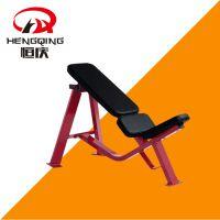 恒庆健身器材HQ-3002悍马系列 30度哑铃推肩凳 运动力量健身器械 健身房