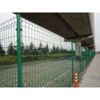 朋英厂家直销 庭院防护网 浸塑厂区围墙隔离栏 小区铁丝网隔离栅
