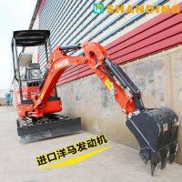 广西玉林履带小型挖掘机经济实惠的小挖机 山鼎供应商