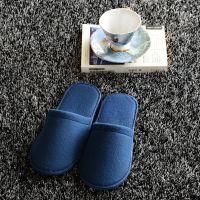 九江酒店一次性用品拖鞋批发棉拖夏季家居拉毛布拖鞋