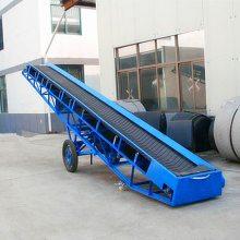 [都用]楼层搬运物料输送机 仓库箱装物料输送机 皮带机生产厂家