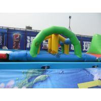 充气水上乐园移动式支架水池游泳池充气水上用品水上冲关游乐