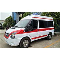 江铃新全顺国五3300mm轴距运输型救护车