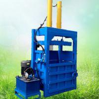 皮革麻袋液压打包机 启航编织袋液压捆包机 废品站用多功能压块机