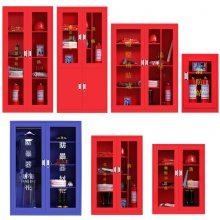 红色消防柜厂家-消防器材放置柜批发 天津室内消防柜厂价直销
