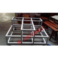 济南加工铝型材栅栏铝架子围栏加工设计制作 陈13075398637