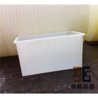 2.5吨滚塑方水箱 2500L 方形胶桶 2.5立方滚塑PE敞口桶