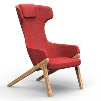 休闲沙发椅 众晟布艺会客椅 高靠背会客休闲椅