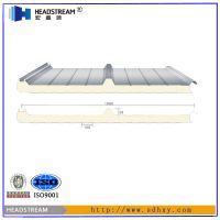 50mm聚氨酯彩钢板多少钱一平?厂家批发聚氨酯彩钢板价格