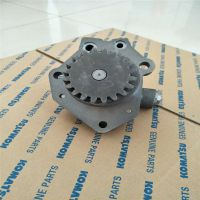 济宁汇达工程机械专供小松450-7机油泵泵总成原装全新