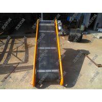 800厘米带宽皮带输送机 浩发袋装稻米装卸传送带