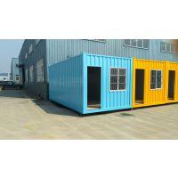 广州德劳施铁箱商铺住宿办公集装箱彩钢板活动房 尺寸可定制厂家直销