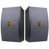 狮乐BX-119专业KTV音箱10英寸家庭K歌会议室背景音乐培训音响 专业木制音箱