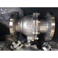 Q41F-25P国标标准不锈钢球阀 DN40 法兰不锈钢球阀 DN50 永嘉精拓阀门厂