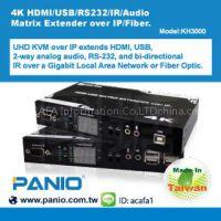 4K HDMI/USB/RS232/IR/Audio Matrix Extender over IP