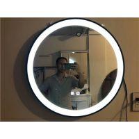 广州厂家定制 酒店宾馆卫生间智能防雾镜子 浴室镜出口品质