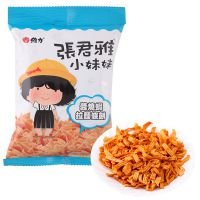 中国台湾进口张君雅小妹妹拉面条饼(酱烧虾味)65g*15