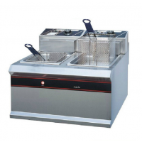 新粤海 EF-904双缸双筛电炸炉 商用油炸炉 西餐小吃设备