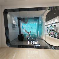广州杰赛科技企业展厅 展览搭建设计 展厅设计施工
