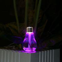 源头厂家 七彩灯泡加湿器 创意迷你USB家用加湿器 超声波加湿器