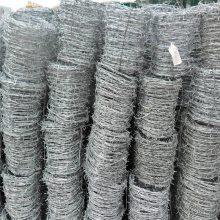 镀锌刺丝网 刺绳护栏网 毛铁刺厂家