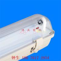 LED三防灯条纹透明外壳PC阻燃带应急电池LED工厂灯渔船码头专用LED灯