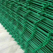 浸塑铁丝护栏网 双边丝护栏网现货 绿化隔离栅栏