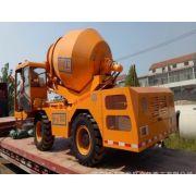 湖南湘潭6立方金亿重工自上料混凝土搅拌车 20T液压轮边减速桥搅拌车