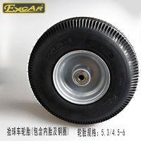 KENDA二联检球器电动高尔夫捡球车检球器轮胎总成