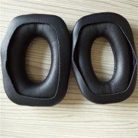 厂家直销 车缝蛋白质皮耳套 高周波热压成型耳机套 舒适大气
