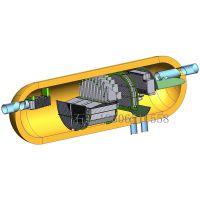 进口分布装置不锈钢翅状初级分离inlet device气液分离进口装置高效叶片分离