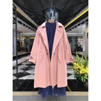 杭州品牌女装批发 洛呗一17秋装折扣尾货走份 一手女装货源