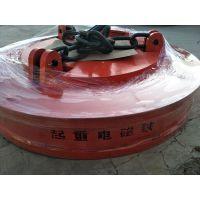电磁吸盘厂家 鑫运机械MW5-150强磁电磁铁吸盘起重废钢废铁用搬运废铁