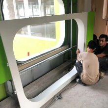 香港外墙造型铝板天花厂家 外墙氟碳铝单板