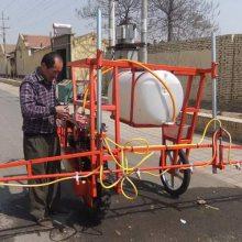 志成新款三轮自走式打药机玉米高粱喷杆式喷雾器农作物喷药车