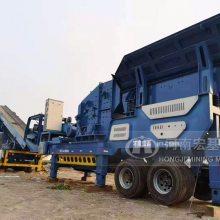 常德建筑垃圾处理工艺配置-组合式移动破碎机价格