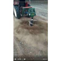 宏燊 小型打坑机 拖拉机挖坑机 优惠价