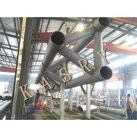 徐州管桁架下料加工 五轴相贯线切割机管桁架加工专用